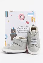 shooshoos - North dock high top sneaker - grey