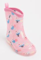 POP CANDY - AOP Rain Boots Pale Pink