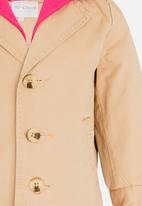POP CANDY - Button Up Coat Beige