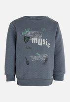 POP CANDY - Sweat Top Grey