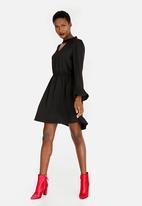 ONLY - Johanna Choker Dress Black