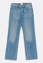 POP CANDY - Relaxed Jean Mid Blue