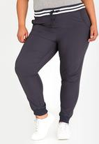 STYLE REPUBLIC PLUS - Sports Luxe Jogger Grey