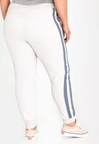 STYLE REPUBLIC PLUS - Sports Luxe Jogger Off White