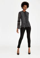 cath.nic - Lace Top Black