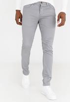 STYLE REPUBLIC - Jack Skinny Leg Jeans Grey Melange
