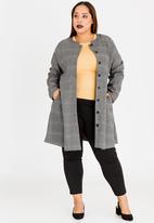 AMANDA LAIRD CHERRY - Patara Coat Grey