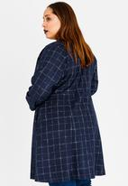AMANDA LAIRD CHERRY - Patara Coat Navy & White