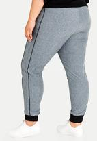 STYLE REPUBLIC PLUS - Sports Luxe Jogger Charcoal