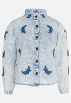 POP CANDY - Printed Jacket White