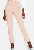 STYLE REPUBLIC - Highwaisted Smart Pants Stone