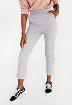 STYLE REPUBLIC - Fitted Trousers Grey