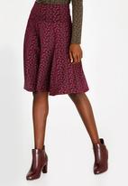 Sway - Traveller Skirt Dark Red