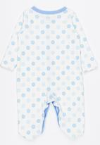 POP CANDY - Polka dot sleepsuit - blue