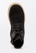 POP CANDY - Boys Combat Boot - black