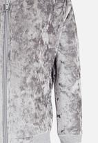 See-Saw - Velvet Bomber Grey
