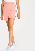 Converse - Star Chevron Track Skirt Pale Pink