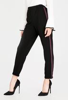 Sissy Boy - Sporty Pants with Side Tape Black