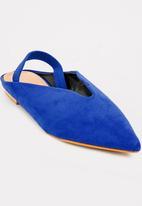 Dolce Vita - Daytona Slingback Slides Blue
