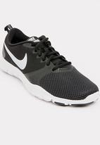 Nike - Nike Flex Essential Training Sneakers Black and White