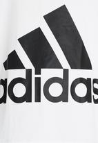 adidas Performance - Big Logo Tee White