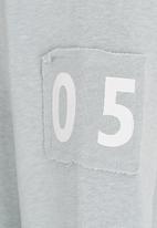 name it - Printed Hoodie Grey