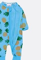 POP CANDY - Printed  Sleepsuit Mid Blue
