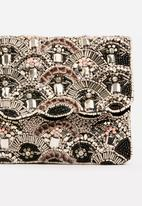 Joy Collectables - Beaded Clutch Bag Black