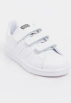 adidas Originals - Kids Stan smith cf c - silver and white