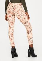 G Couture - Printed Pants Floral