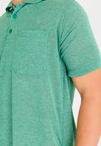 STYLE REPUBLIC - Pocket Detail Golfer Green