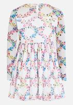 Rebel Republic - Chiffon Dress Multi-colour