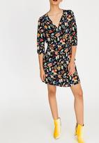 ONLY - Nova Lux 3/4 Sleeve Dress Black