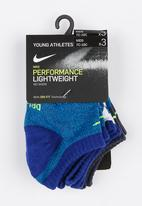 Nike - Twisted low ankle socks dark - blue