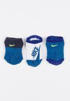 Nike - Twisted low ankle socks dark - blue