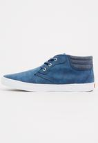 Levi's® - Nic Canvas Mid Sneakers Navy