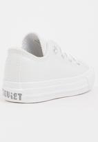 SOVIET - Viper Low Cut Sneaker PU Mono White