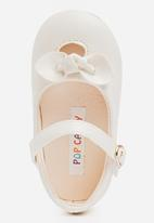 POP CANDY - Pump With Bow Detail Cream