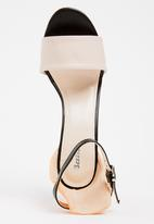 Bata - Ankle Strap Heels Orange