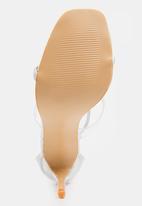 Dolce Vita - Valerie Ankle-strap Heels Silver