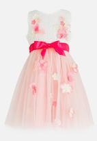 POP CANDY - Woven Tutu Dress Pale Pink