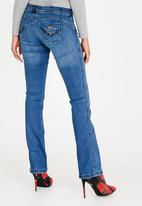 Sissy Boy - Jon Jon Ella Bootleg Jeans Mid Blue