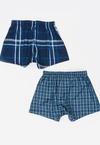 Jockey - 2 PK Boys Woven Boxer Multi-colour