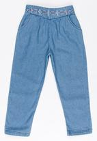 Roxy - Lovely Stories Denim Tapered Pant Navy
