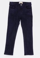 Soobe - Girls Straight Leg Trousers Navy