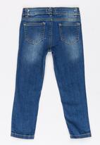 Soobe - Girls Straight Leg Jean Mid Blue