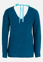 Rebel Republic - Oversize Slouch Jersey Turquoise