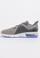 Nike - Nike Air Max Sequent 3 Runners Dark Grey