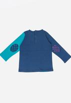 Soobe - Girls Printed Long Sleeve Tee Mid Blue