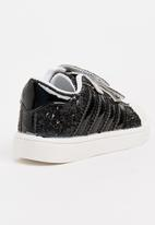 POP CANDY - Velcro double strap sneaker - black